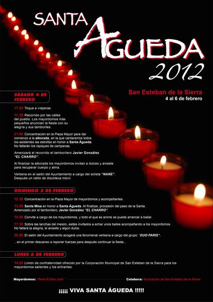 Fiesta en honor a Santa Águeda