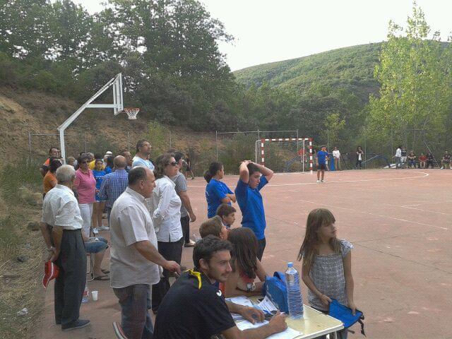 Campeonato de fútbol sala Mancomunidad Entresierras