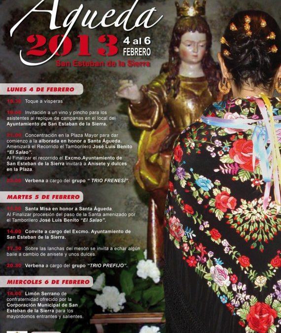 Celebración de Santa Águeda 2013