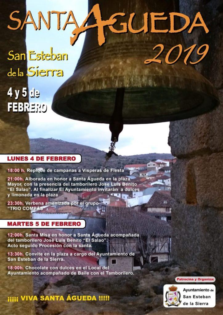 Santa Agueda 2019 San Esteban de la Sierra