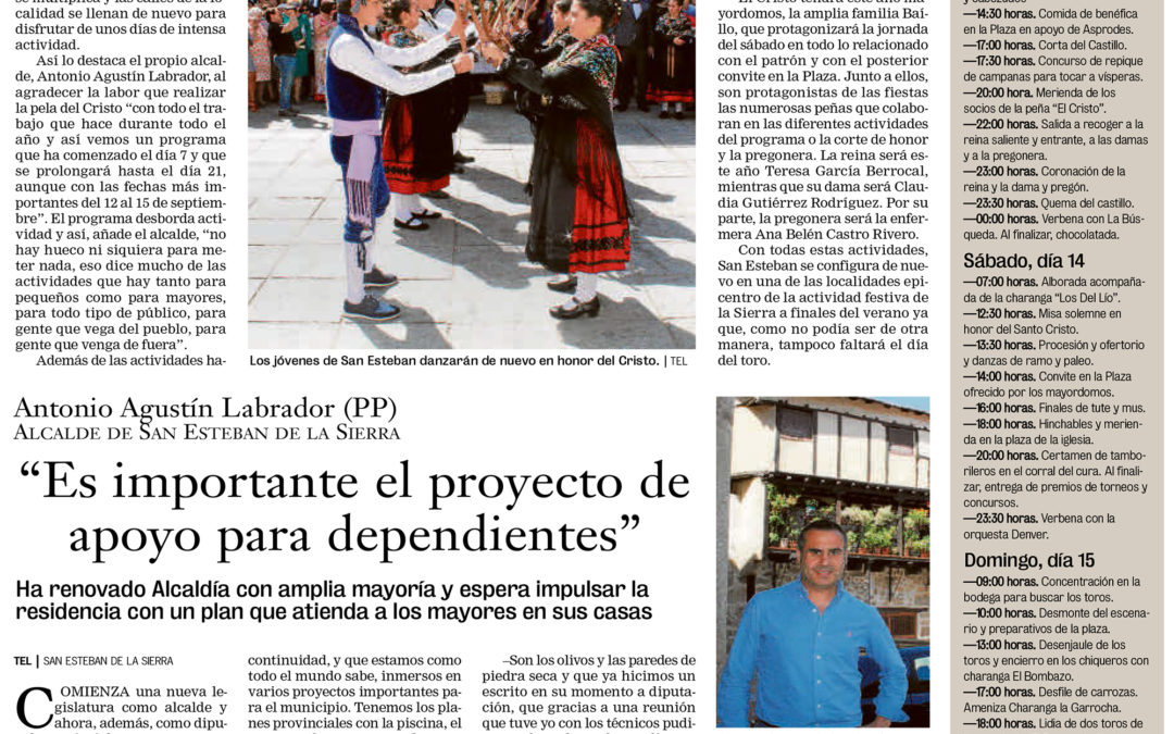 San Esteban de la Sierra: Donde la fiesta se vive a lo grande