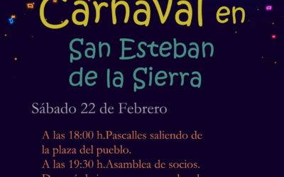 Carnaval 2020 en San Esteban de la Sierra