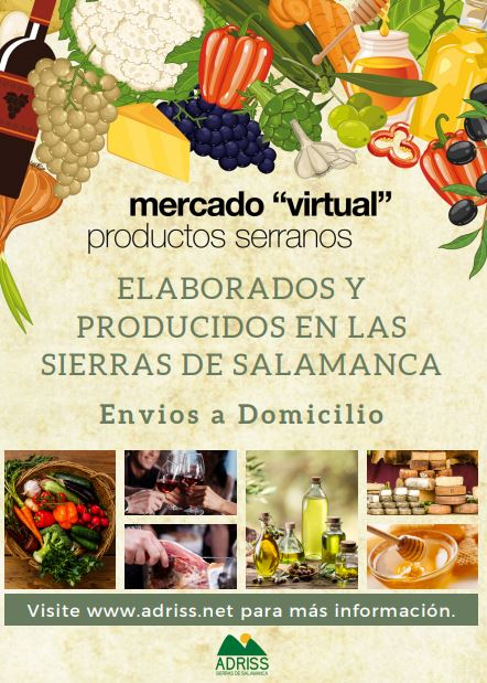 Mercado virtual de productos serranos de Salamanca